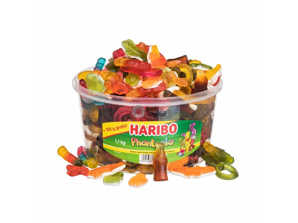 Haribo Phantasia Box 1kg +100g zdarma