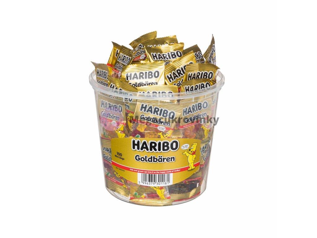 HARIBO Goldbären 100ks 1