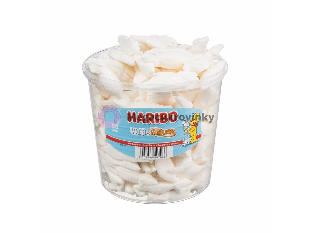 Haribo White Mouse 150 ks