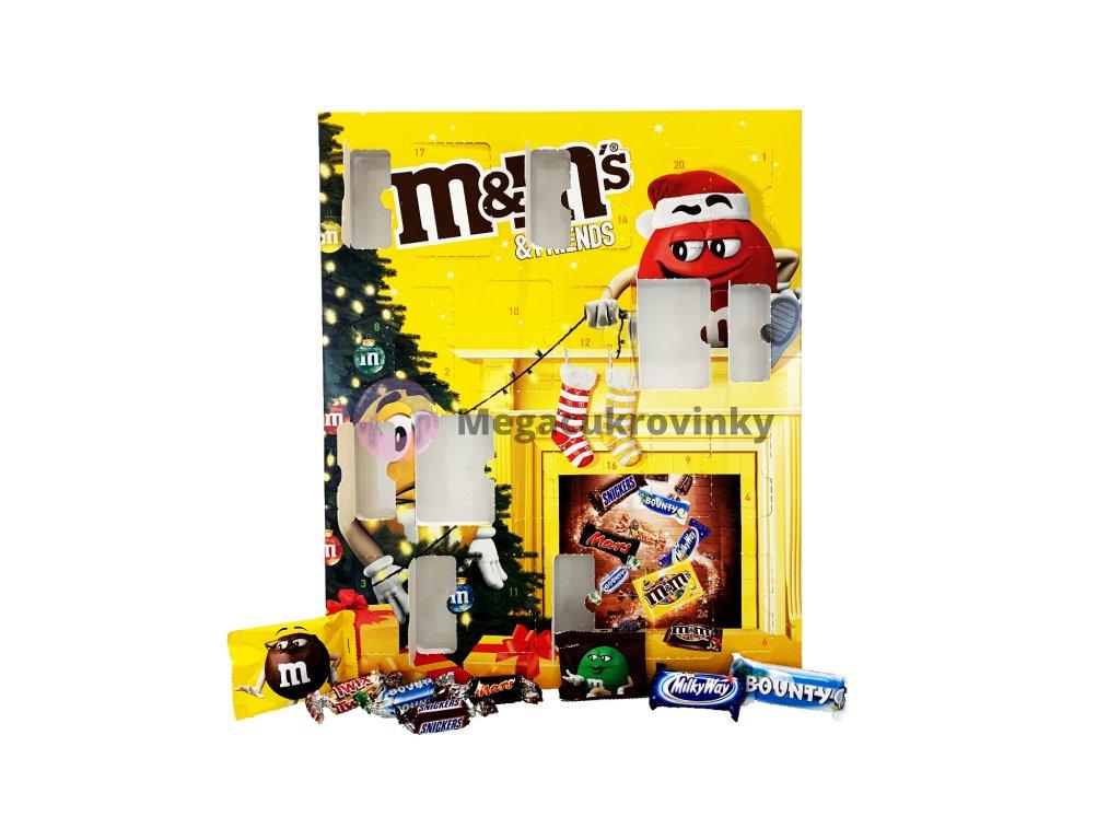 M&Ms adventní kalendář 1