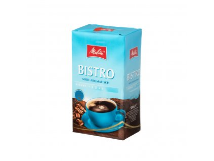 Melitta Bistro Mild-Aromatisch mletá káva 500 g